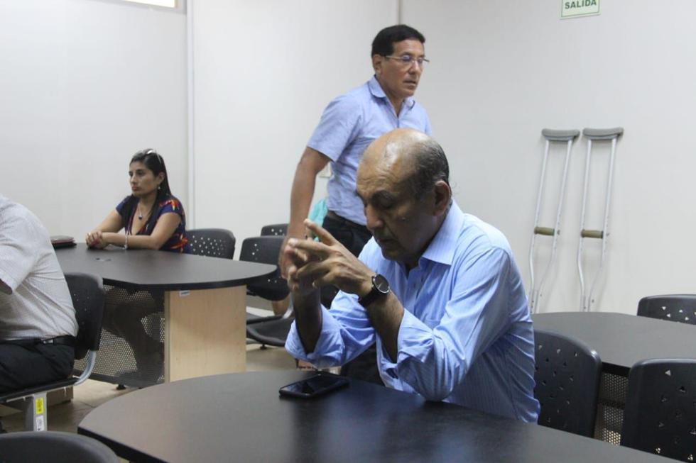 Daniel Marcelo es procesado por el presunto direccionamiento de la compra de accesorios para los bloqueadores de celulares del penal El Milagro durante su gestión como alcalde de La Esperanza. (Foto: Alan Benites)