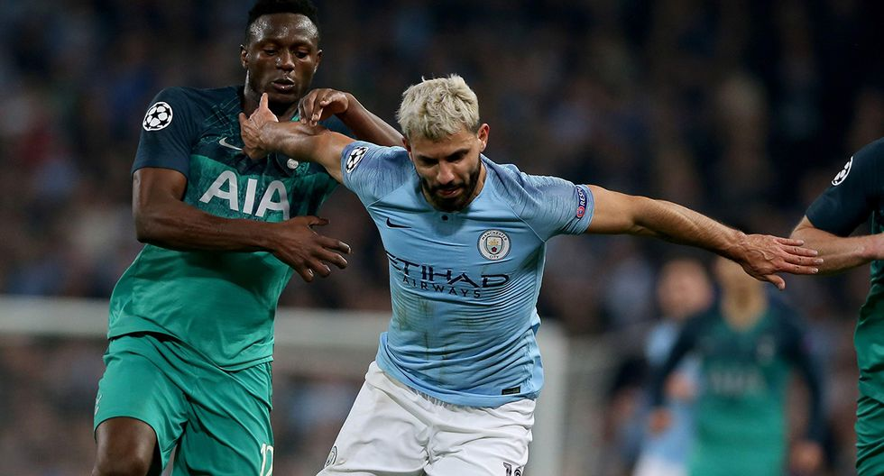 Manchester City pelea por el título de la Premier League y Tottenham, esta fecha, se presenta como el rival más complicado. (Foto: EFE)