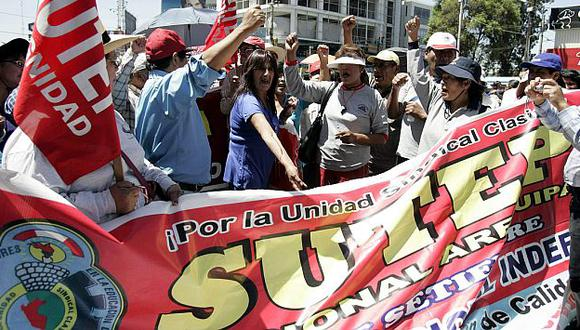 No todos están dispuestos a suspender la huelga. (USI)