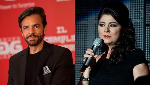 Victoria Ruffo dijo que, al igual que Eugenio Derbez, ella tampoco quiere volver a dirigirle la palabra. (Foto: Televisa)