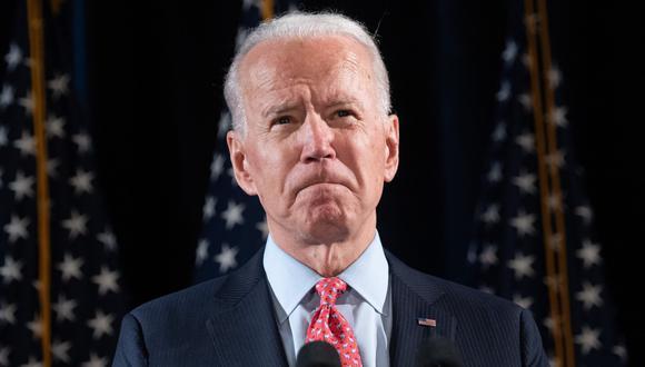 """Joe Biden teme que Trump intente """"robar"""" la elección o se niegue a dejar el cargo. (AFP / SAUL LOEB)."""