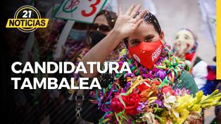 Tambalea candidatura de Verónika Mendoza