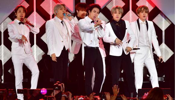 """BTS revivirá la época retro con el lanzamiento de """"Dynamite"""". (FOTO: AFP/Frederic J. Brown)"""