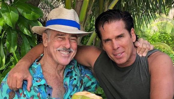 Roberto Palazuelos y Andrés García son buenos amigos desde hace muchos años, y no solo eso, pues el llamado 'Diamante Negro' también funge como su abogado (Foto: Roberto Palazuelos / Instagram)