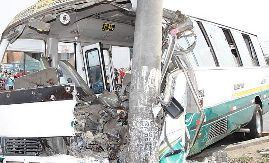 Chosicano arrolló a cinco personas en paradero de Chaclacayo. (USI/Referencial)