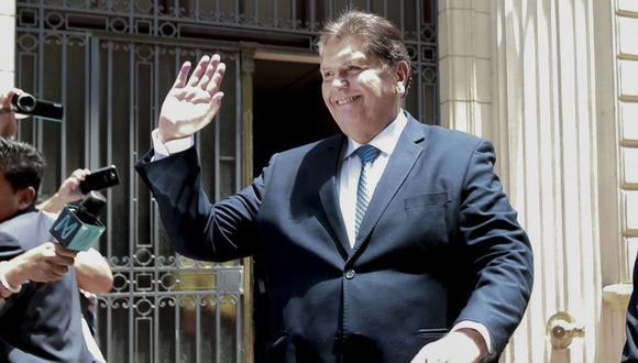 Alan García solicitó asilo ante la embajada de Uruguay en Perú. (Foto: El Comercio)