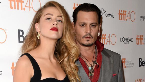 Amber Heard demandó a su exesposo Johnny Depp por violencia doméstica. Foto: AFP