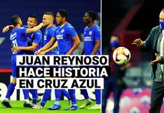 Juan Reynoso y el récord histórico de Cruz Azul en la Liga MX