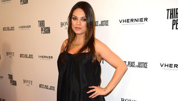 Mila Kunis habló también sobre su relación con Ashton Kutcher. (AP)