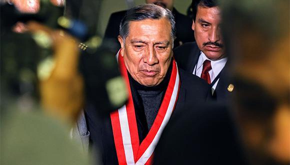 Segundo Morales ratificó su declaración inicial sobre Héctor Becerril. (Foto: Agencia Andina)