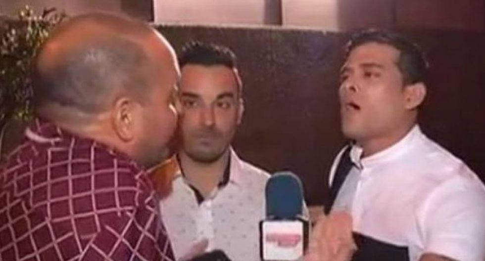 No se guardaron nada. Domínguez no aguantó las preguntas de 'Metiche'. (Captura)
