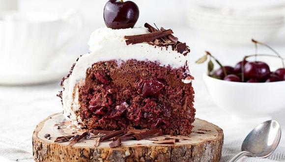Torta de selva negra. (Foto: Diariamente Ali)