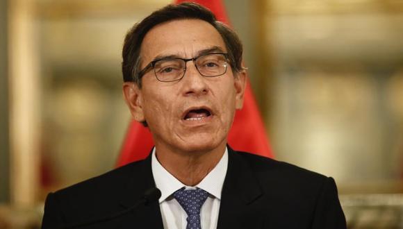Martín Vizcarra anuncia medidas adicionales contra el coronavirus. (GEC)
