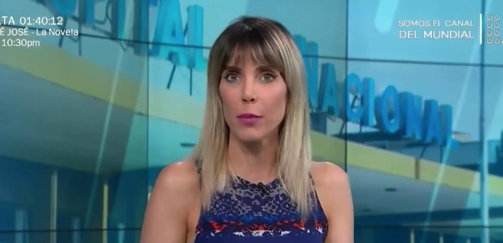La periodista se solidarizó con la familia de Christian Estremadoyro y exigió se investigue el caso.