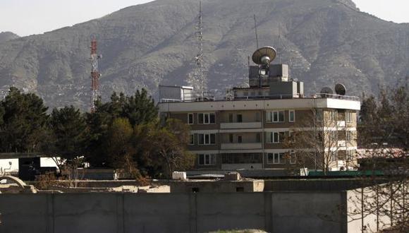 La embajada del Reino Unido fue una de las atacadas, pero no se registraron víctimas. (Reuters)