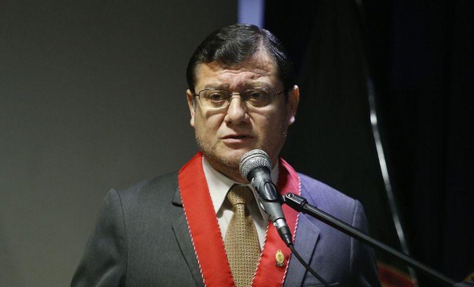 Jorge Chávez Cotrina también remarcó que en el Perú no hay persecución política y que César Hinostroza es requerido por graves delitos. (Foto: GEC / Video: Canal N)