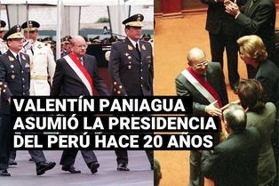 Valentín Paniagua asumió la presidencia tras la vacancia de Alberto Fujimori hace 20 años