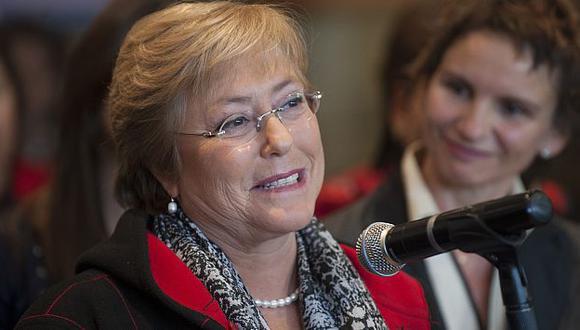 Michelle Bachelet es la favorita entre los chilenos. (AFP)