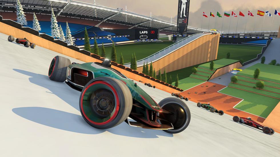Trackmania llegará a PC vía UPlay y Epic Store.