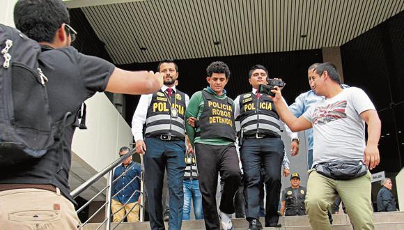 MUY PELIGROSOS.  'Zé Luiz', quien fue detenido en VMT, habría sido contactado por 'Negón'. (Foto: PNP)