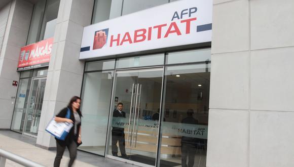 El gerente general de Hábitat aseguró que las AFP reportan pérdidas en rentabilidad por S/ 188 millones en el primer trimestre del año. (Foto: GEC)
