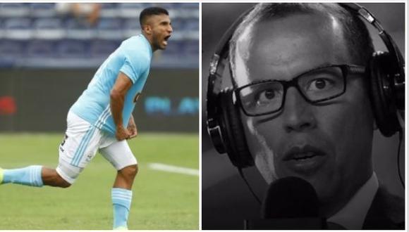 Así fue la narración de gol del último relato de Daniel Peredo en TV. (Foto: Francisco Neyra / GEC)