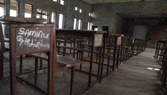 La Escuela Secundaria Gubernamental Jangebe, en el estado de Zamfara, fue el escenario del último secuestro masivo de estudiantes en Nigeria. (Foto: AFP)