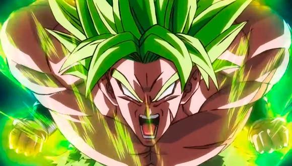 """Dragon Ball Super: Broly"" integrará al Super Saiyayin Legendario en la historia oficial de Dragon Ball. (Foto: Toei Animation)"