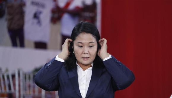 Keiko Fujimori es acusada de lavado de activos por financiar sus campañas políticas con presunto dinero ilícito. (Foto: El Comercio)