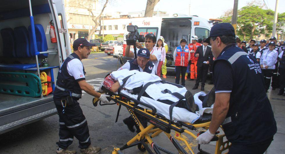 """UNMSM impartirá """"Maestría Profesional en Gestión en Sistemas de Emergencias Médicas Pre Hospitalarias, Desastres y Rescate Aéreo"""".. (Foto: Referencial/Andina)"""
