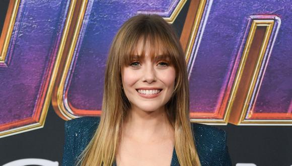 Elizabeth Olsen durante el estreno mundial de Avengers: Endgame. (Foto: AFP)