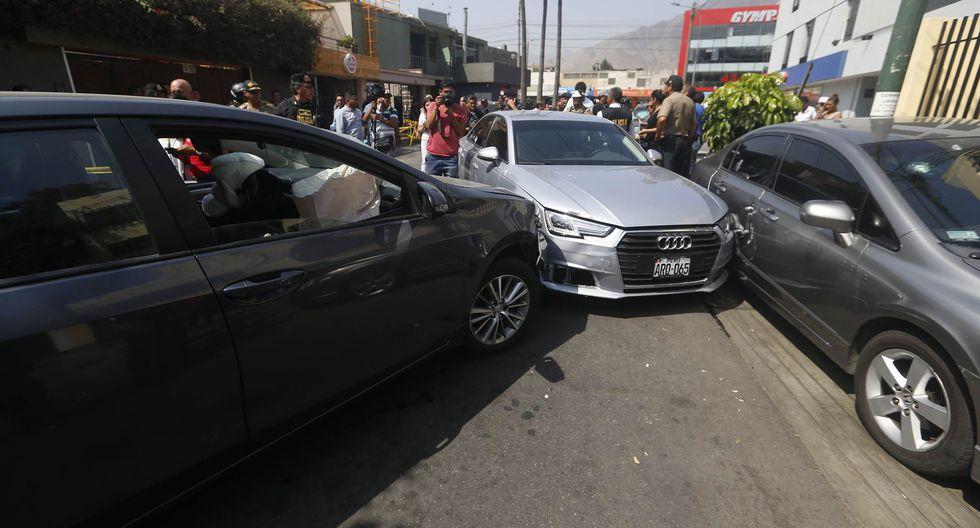 Policía frustró asalto en casa de cambio de Surco (Mario Zapata/Perú21)