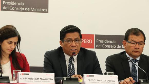 Presidente del Consejo de Ministros rechazó las declaraciones de la ministra de Justicia sobre el feminicidio ocurrido en El Agustino. (Foto: PCM)