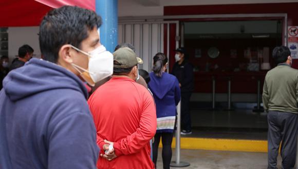 La cantidad de casos confirmados aumentó este sábado. (Foto: Fernando Sangama / GEC)
