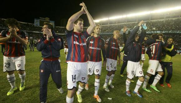 San Lorenzo chocará con Nacional de Paraguay en la final de la Copa Libertadores 2014. (Reuters)