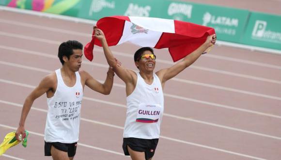 Días antes ganó los 5000 metros (T11), pero fue descalificado. (Foto: Violeta Ayasta / GEC)