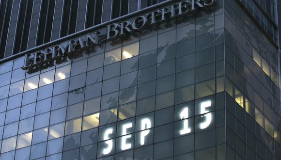 El 15 de septiembre de 2008, el banco Lehman Brothers quebró, consolidando la crisis económica. (Foto: AP)