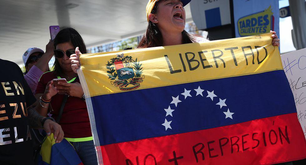 Venezuela sigue envuelta en un crisis política y social. (AFP)