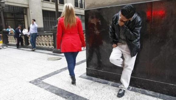 El acoso sexual callejero es una forma de agresión contra las mujeres. (GEC)