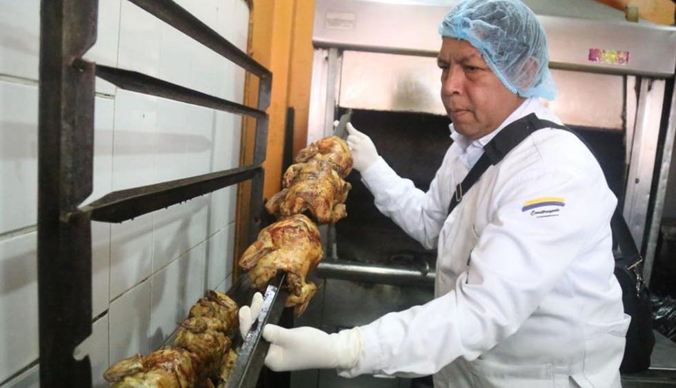 La Municipalidad de Lima clausuraron tres pollerías en mal estado. (Foto: Municipalidad de Lima)