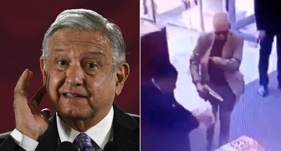 Presidente de México, Andrés Manuel López Obrador, tocó el tema de su embajador en Argentina, acusado de robar un libro. (Foto: AFP/Captura de video)