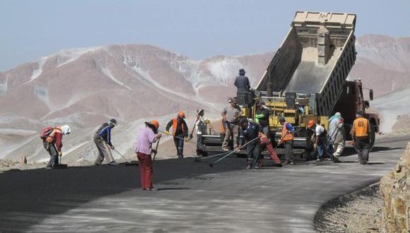 El 40% de la red vial nacional aún no está pavimentada. (USI)
