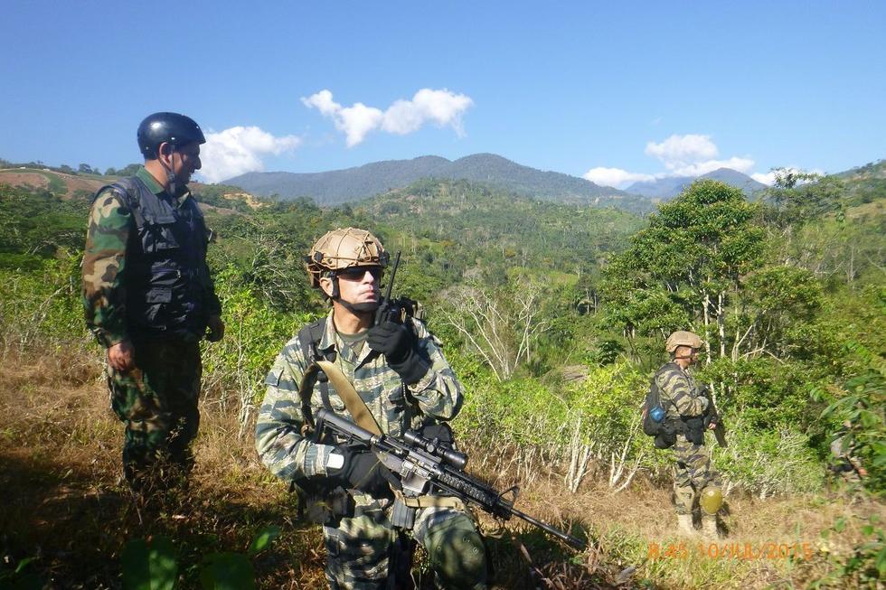 No todo es fútbol, así se piden alentar a los soldados que luchan en VRAEM por el 'Día del hincha' (Difusión)