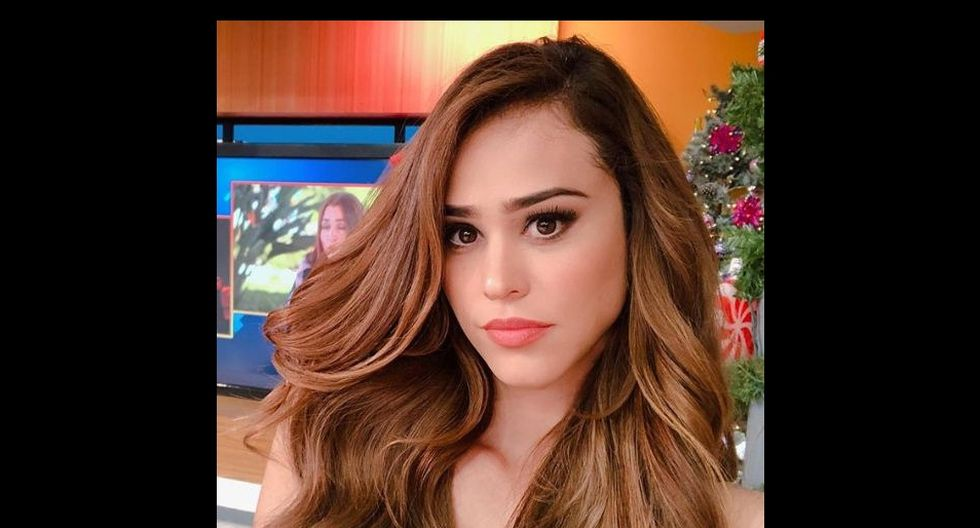 La conductora Yanet García subió un singular video a Instagram Stories. (@iamyanetgarcia)