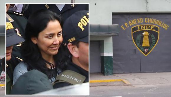 Abogado de Nadine Heredia aseguró que no está recluida en los pabellones del penal Santa Mónica por seguridad.  (EFE/Perú21)