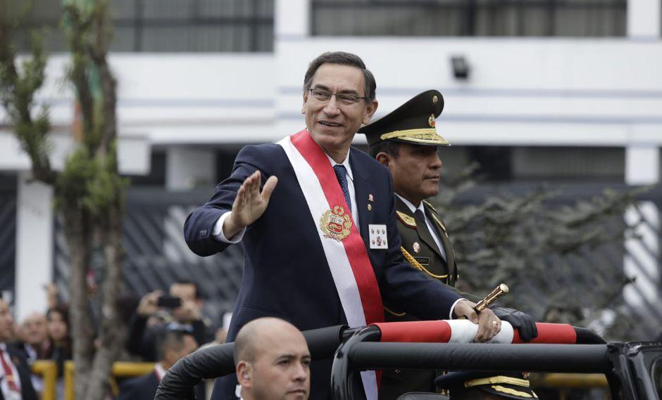 En su Mensaje a la Nación, el jefe de Estado anunció la propuesta del adelanto de elecciones anunciado en el Mensaje a la Nación. (Fotos: Anthony Niño De Guzmán)