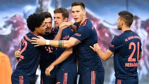 Bayern Munich vs. Estrella Roja se enfrentan en la Champions League. (Foto: AFP)