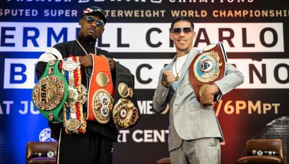 Brian Castaño vs. Jermell Charlo: horarios y canales para ver EN VIVO pelea de box desde Texas. (Foto: Getty Images)