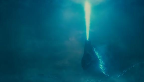 """Warner y Legendary revelaron el nuevo póster promocional de """"Godzilla: King of the Monsters"""".  Cinta se estrenará en Estados Unidos en mayo. (Captura de pantalla)"""