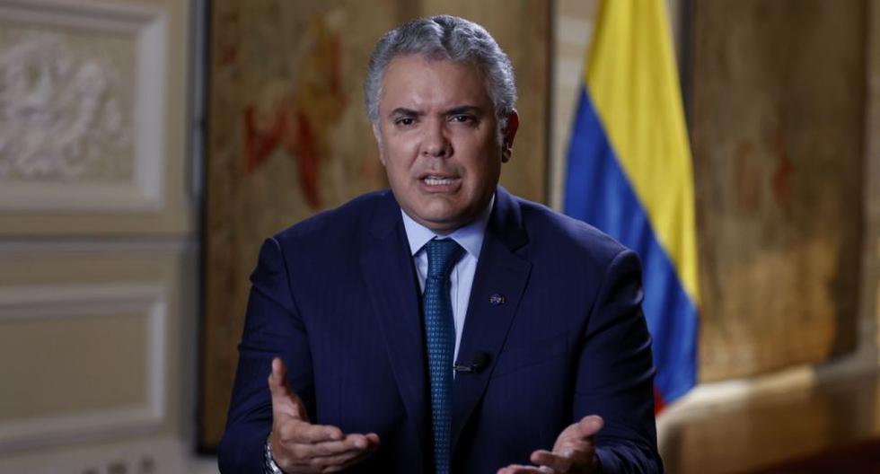 Imagen del presidente de Colombia, Iván Duque. (EFE/ Mauricio Dueñas Castañeda).